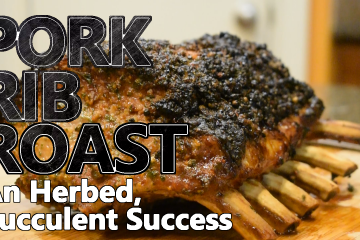 Pork rib roast may seem intimidating, but it is actually easy to season and cook. The best pork is bone-in, and the best way to cook it is roasted.