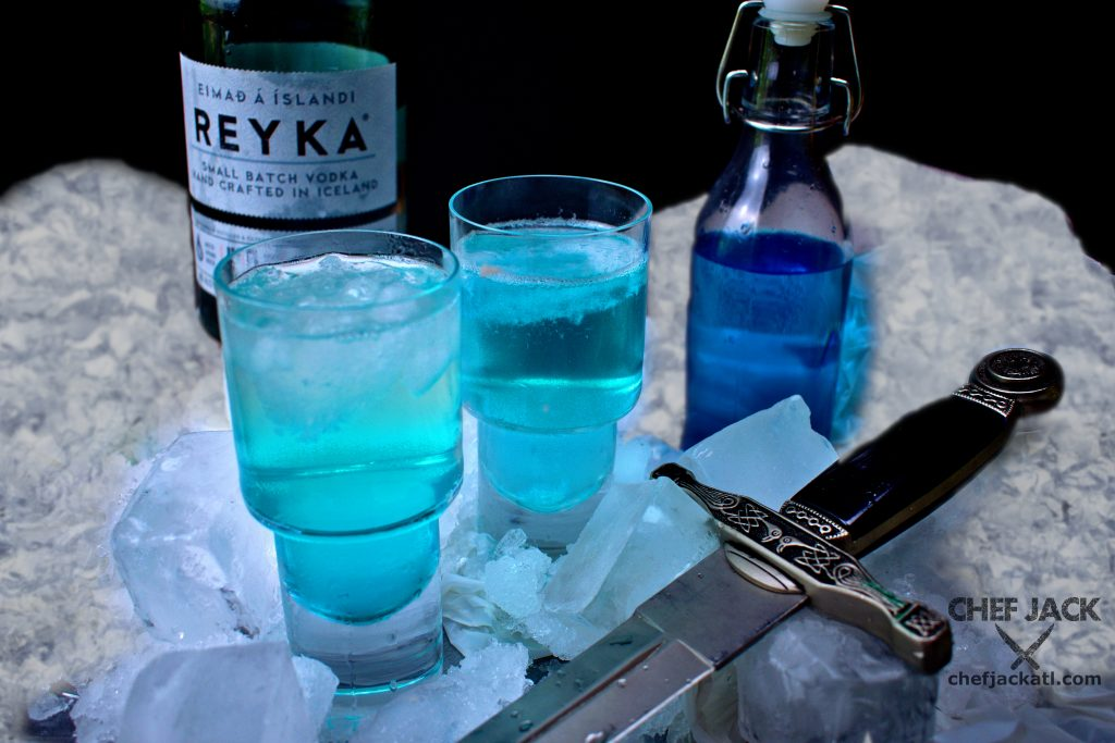 Game of Thrones is back for it's 8th and final season, and the Night King is leading his armies of the dead past The Wall. This chilly cocktail will help you stay cool as the tension rises.