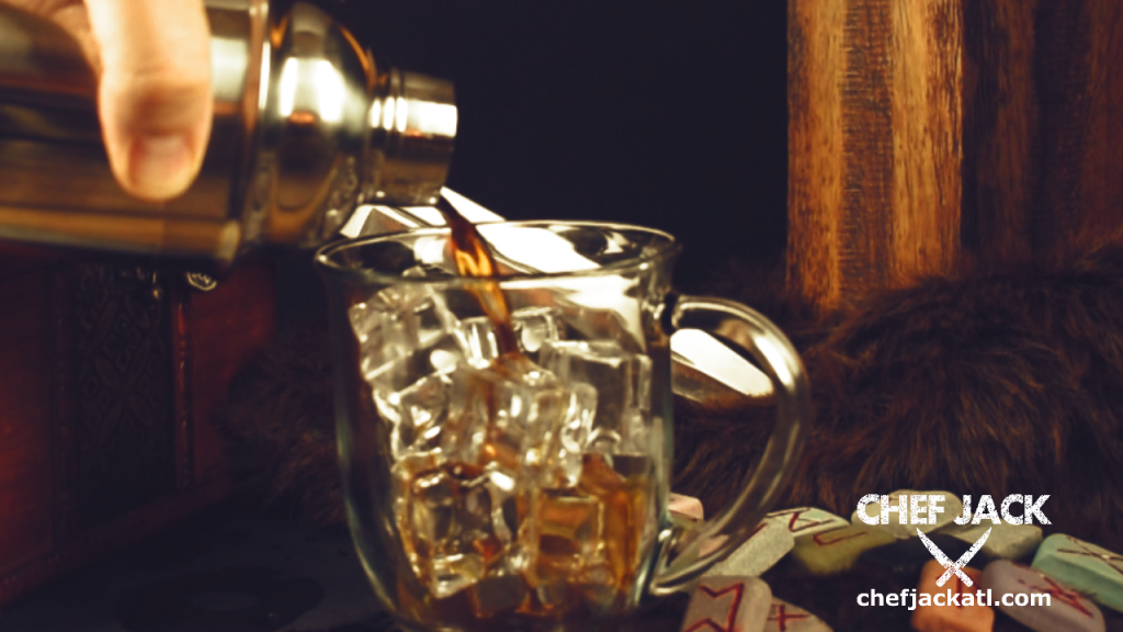 The Night's Watch has been the sentries on The Wall for centuries.  Many long nights staring into the cold dark required a bold drink to stay sharp and alert.  This coffee-based cocktail will keep the inner fires stoked while brave men keep a lookout.